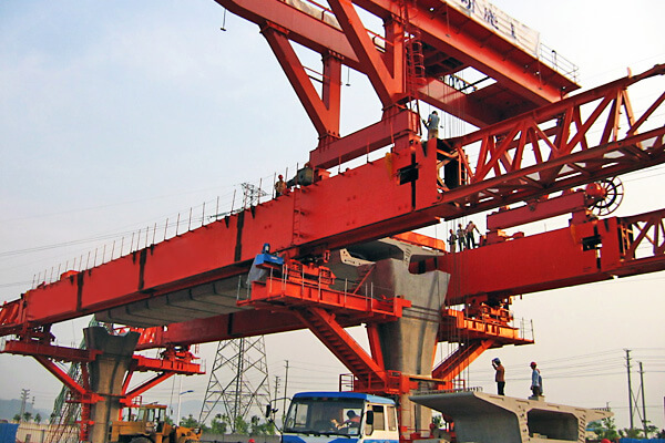 Segmental Bridge Construction Machine