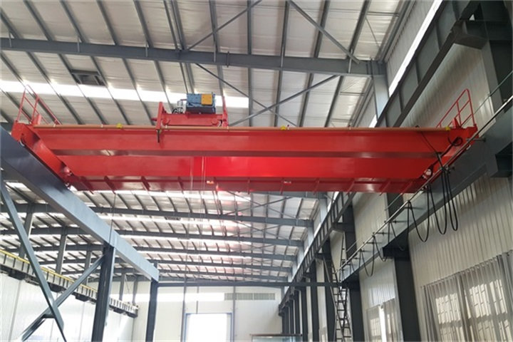 Double Girder Hook Overhead Trolley Crane