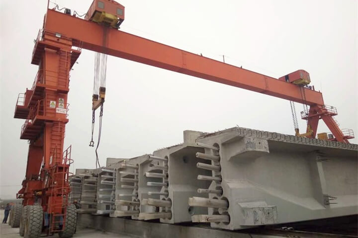 Single Girder Rubber Tyred Gantry Crane